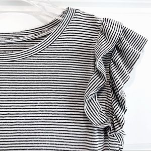 a•new•day Ruffled Shoulder Tee